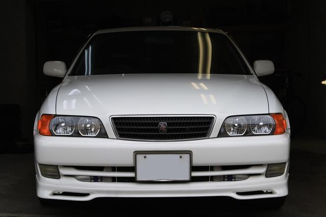 ガラスコーティング施工後の発売年数経過のお車