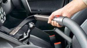 簡易車内清掃
