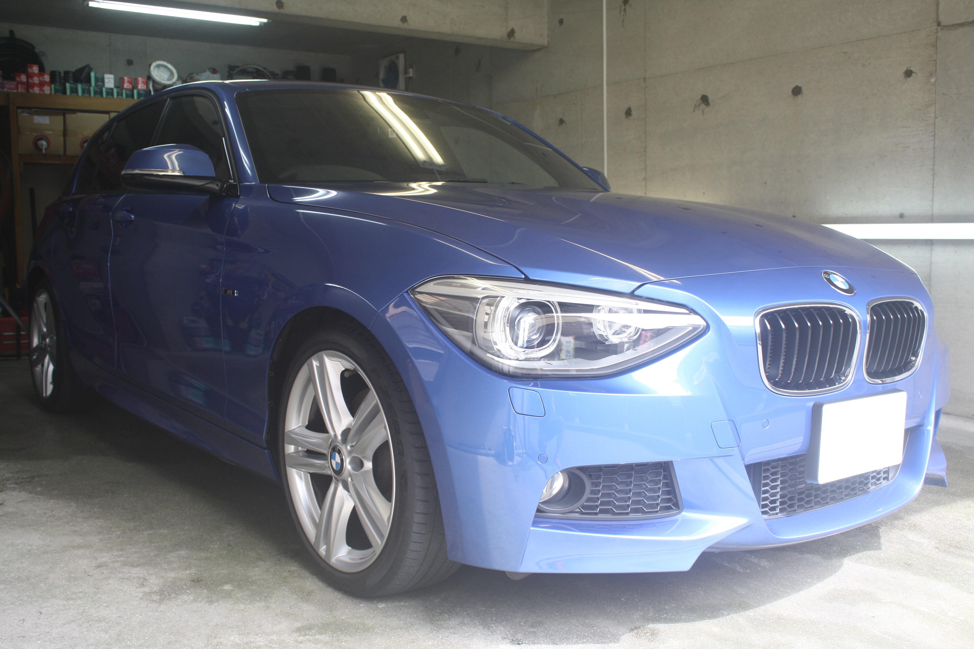 BMWにガラスコーティング プレミアム