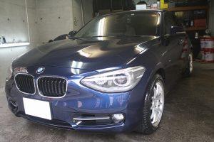 BMWにガラスコーティングプレミアム